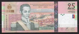 518-Haiti Billet De 25 Gourdes 2004 A168 Neuf - Haïti
