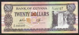 528-Guyana Billet De 20 Dollars C10 - Guyana