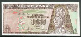 224-Guatemala Billet De 1/2 Quetzal 1992 A734A Neuf - Guatemala
