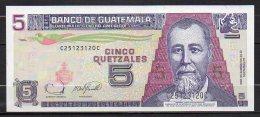 537-Guatemala Billet De 5 Quetzales 2006 C251C Neuf - Guatemala