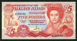 280-Falkland Billet De 5 Pounds 1983 A188 Neuf - Islas Malvinas