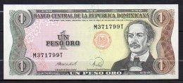 529-Dominicaine Billet De 1 Peso Oro 1988 M371T - Dominicaine