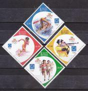 Sri Lanka  2004  Athens Olympic Games   4 V   Rifle Shooting Swimming# 23919 S - Estate 2004: Atene
