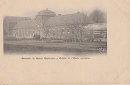 17 / 7 /196    SOUVENIR  DE  BONNE  ESPÉRANCE  -  ENTRÉE  DE  L'ÉCOLE  NORMALE -  BRAINE  LE  COMTE - Braine-le-Comte