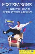 PUBLICITE--LA POSTE---postepargne--voir 2 Scans - Poste & Facteurs