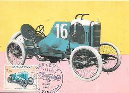 MONACO   Peugeot 1910   28/04/67 - Automobile