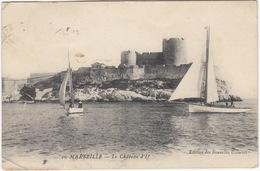 Marseille: VOILIER - Le Chateau D'If  -  (1930, France) - Voiliers