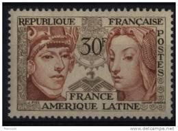 N° 1060 - X X - ( F 380 ) - ( France Amérique Latine ) - Ungebraucht
