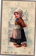 Fantaisie - Enfant - Année 1905(gaufrée) - Autres