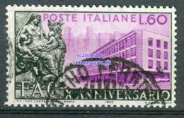 BM Italien 1955 - MiNr 950 - Used - 10 Jahre Food Agriculture Organisation FAO - 1946-60: Gebraucht