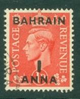 Bahrain: 1948/49   KGVI 'Bahrain' OVPT     SG52     1a On 1d   Used - Bahrein (...-1965)