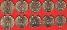 Tajikistan Set Of 5 Coins: 5 - 50 Diram 2006 UNC - Tadjikistan