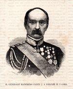 Il Generale Mandredo Fanti A Firenze Il 5. Corr.-- Original - Druck Aus 1865 - Alte Papiere