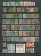 Lot De 69 Timbres Anciennes Colonies Plupart En 2è Choix, Periode Classique Et Semi Moderne - Aab132 - Non Classés