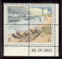 1972 - U.S. # 1448-1451 - Block Of 4 - Mint VF/NH - Unused Stamps