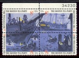 1973 - U.S. # 1480-1483 - Block Of 4 - Mint VF/NH - Unused Stamps