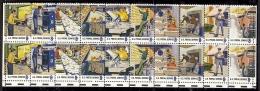 1973 - U.S. # 1489-1498 - Block Of 4 - Mint VF/NH - Stati Uniti