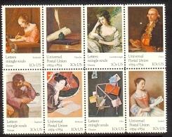 1974 - U.S. # 1530-1537 - Block Of 4 - Mint VF/NH - Unused Stamps