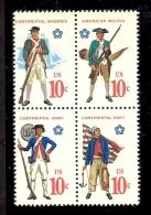 1975 - U.S. # 1565-1568 - Block Of 4 - Mint VF/NH - Unused Stamps