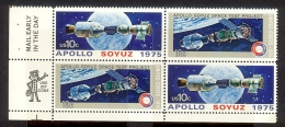 1975 - U.S. # 1569-1570 - Block Of 4 - Mint VF/NH - Unused Stamps