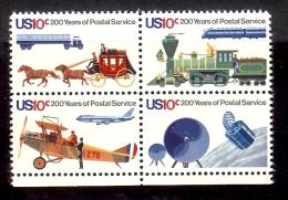 1975 - U.S. # 1572-1575 - Block Of 4 - Mint VF/NH - Unused Stamps