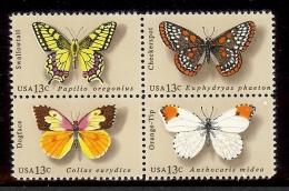 1977 - U.S. # 1712-1715 - Block Of 4 - Mint VF/NH - Unused Stamps