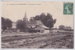 SIORAC-SUR-DORDOGNE - Vue Prise De La Gare - Andere Gemeenten