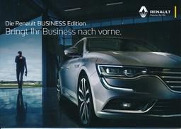 Brühl 2017 Renault Business Edition - Heft Mit Automodellen Renault Deutschland AG - KFZ