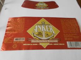 .ETIQUETTE BIERE ANKER MECHELSEN BRUYNEN - Cerveza