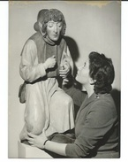 LES TRESORS DE L'ART TCHECOSLOVAQUE A PARIS - 5 PHOTOS DE PRESSE JUIN 1957 - Places