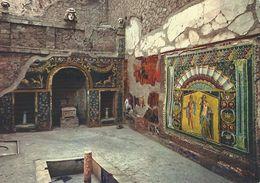 Ercolano - Hercolanum.  House Of Poseidon And Amphitrite   Italy.  # 03821 - Ercolano