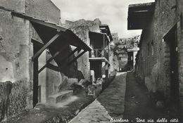 Ercolano - Hercolanum.  A Road To The Town - Una Via Della Citta.     Italy.  # 06725 - Ercolano