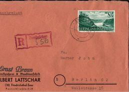 ! 1948 Einschreibebrief Aus Zweibrücken, Rheinland Pfalz - Französische Zone