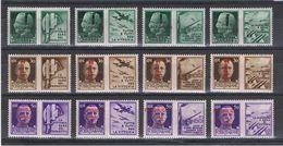 R.S.I.:  1944  PROPAGANDA  GUERRA  -  S. CPL.  12  VAL. L. -  TIMBRETTO  SCOTTO  -  SASS. 25/36 - 4. 1944-45 Repubblica Sociale