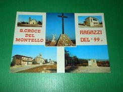 """Cartolina Santa Croce Del Montello ( Treviso ) - Ragazzi Del """"99"""" - 1973 - Treviso"""