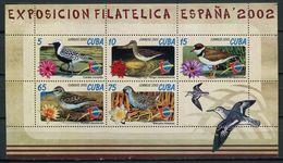 Cuba 2002 / Birds MNH Vögel Aves Oiseaux / Cu4421  40-36 - Pájaros