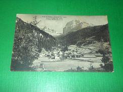 Cartolina Valle Di Fassa - Canazei Verso Il Sella E Cima Pordoi 1930 - Trento
