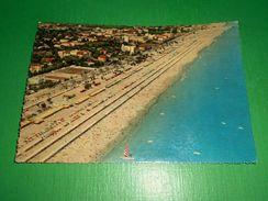 Cartolina Riccione - Veduta Aerea 1960 - Rimini
