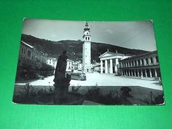 Cartolina Valdobbiadene - Piazza Maggiore 1951 - Treviso