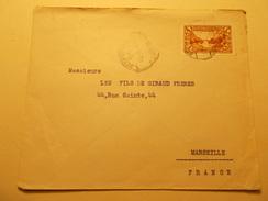 Marcophilie  Cachet Lettre Obliteration Timbre - LIBAN (1016) - Liban