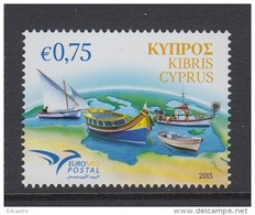 CYPRUS CHYPRE 2015 EUROMED BOATS - Chipre (República)