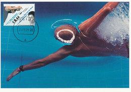 D30684 CARTE MAXIMUM CARD FD 2009 NETHERLANDS - SWIMMING CP ORIGINAL - Sailing