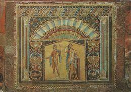 Ercolano - Hercolanum.  Mosaic Of Poseidon And Amphitrite    Italy.  # 06727 - Ercolano
