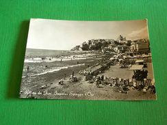 Cartolina Riviera Dei Fiori - Imperia - Spiaggia D'Oro 1954 - Imperia