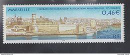 2002 - TIMBRE NEUF - 75ème Congrès De La Fédération Française Des Associations Philatéliques à MARSEILLE - N° YT : 3489 - France