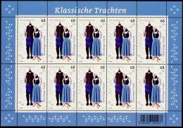 Austria Österreich 2017  Klassische Trachten (VI)  MNH / ** / POSTFRISCH - Blocks & Kleinbögen