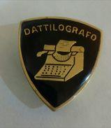 ALPINI - SPILLA / DISTINTIVO DATTILOGRAFO (Esercito Italiano / Servizio Militare) - Militari