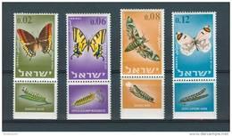 Israel - 1965, Michel/Philex No. : 352-355,  - MNH - *** - Full Tab - Neufs (avec Tabs)