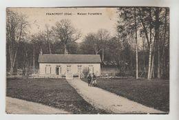 CPSM CHOISY AU BAC (Oise) - FRANCPORT : Maison Forestière - Autres Communes