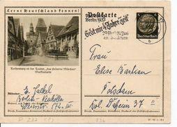 Bk6/ Deutsches Reich Ganzsache Bildpostkarte P 236/ 37-82-1-B5 Gelaufen/ Used - Ganzsachen